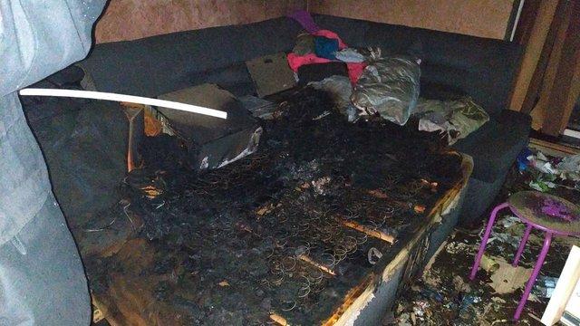 У Солонці біля Львова під час пожежі в п'ятиповерхівці виявили тіло чоловіка