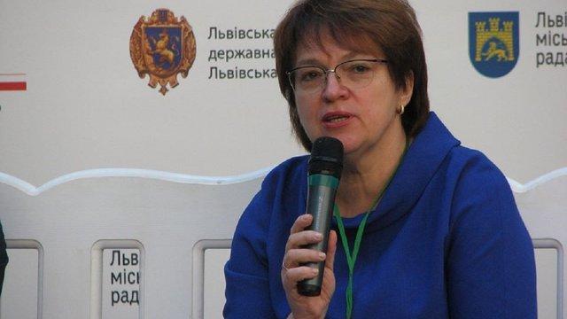 Директорка департаменту охорони здоров'я ЛОДА відмовилася писати заяву на звільнення