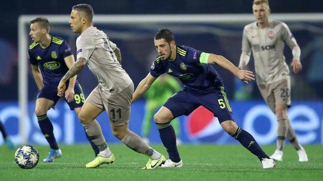 «Шахтар» зіграв внічию в Лізі чемпіонів, забивши два голи вже у компенсований час