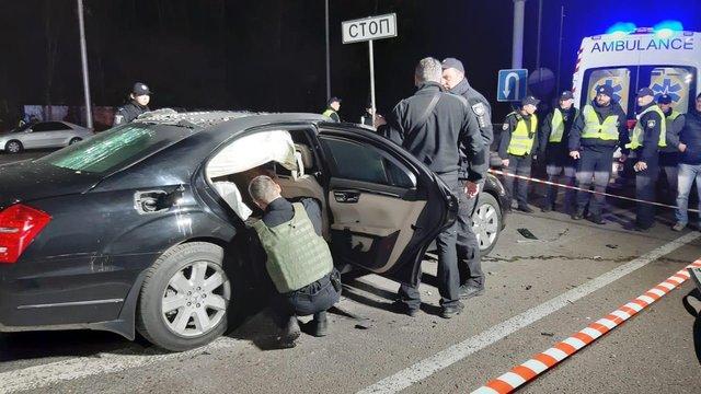Загиблим внаслідок підриву автомобіля в Києві виявився 40-річний поліцейський