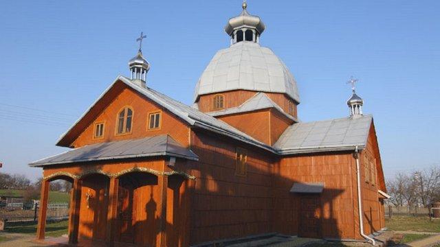 У Яворівському районі за майже 7 млн грн відреставрують дерев'яну церкву XVIII ст.