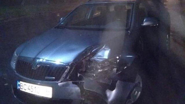 У Львові активісти затримали п'яного водія, який скоїв ДТП та намагався втекти