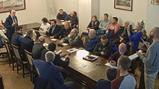 Активісти «Розвитку громади» зірвали засідання містобудівної ради у Львові