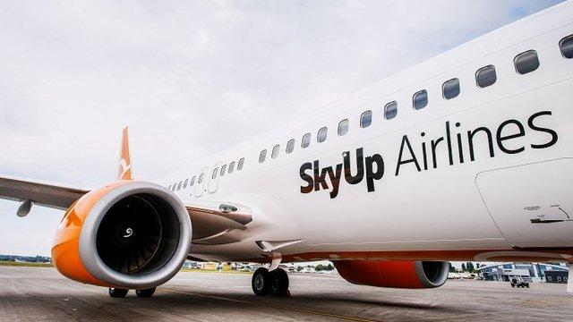 Під час посадки у Єгипті загорілося шасі літака авіакомпанії SkyUp