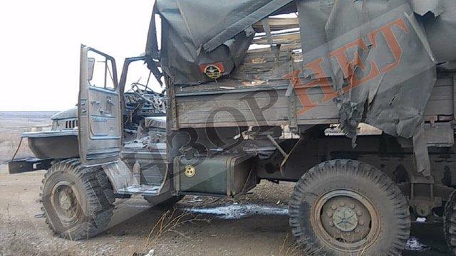 Бойовики обстріляли вантажівку 128-ї бригади на Донбасі: чотирьох солдатів поранено