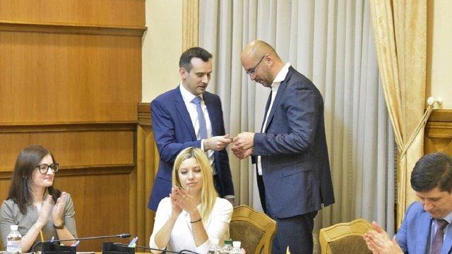 ЦВК зареєструвала самовисуванця Сергія Рудика народним депутатом
