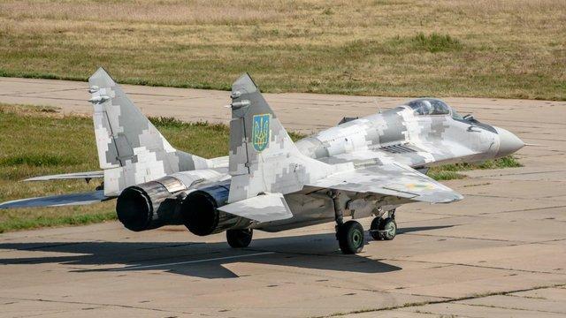 ВМС України отримали модернізований винищувач МіГ-29