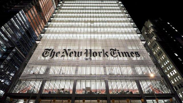 Американське видання The New York Times офіційно змінило написання Kiev на Kyiv