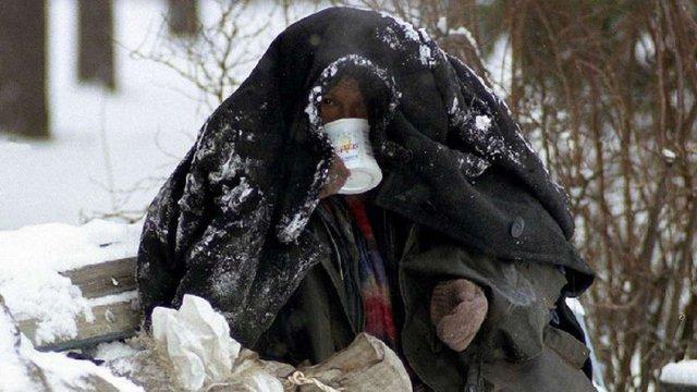 У Львові вже готові до роботи два пункти обігріву для безпритульних
