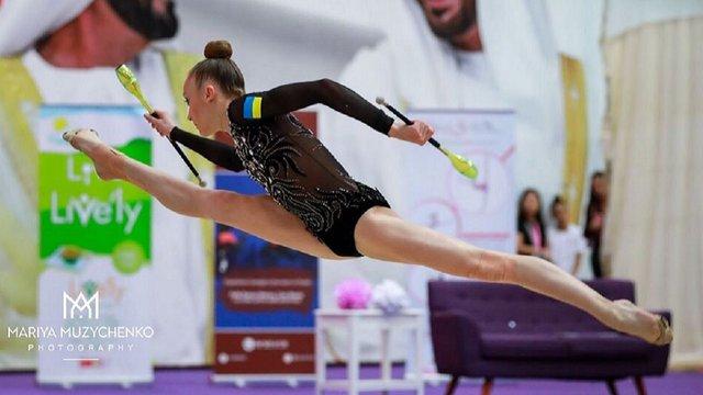 Львівська гімнастка Христина Погранична завоювала п'ять медалей в ОАЕ