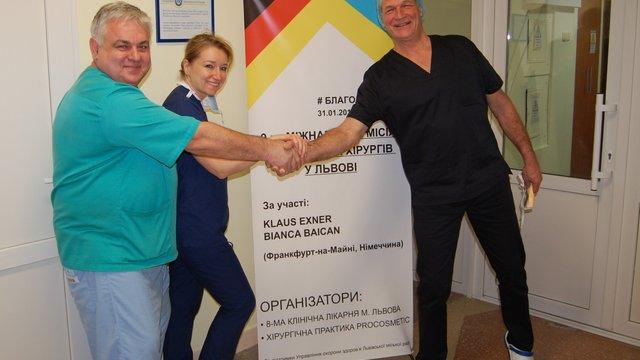У Львові п'ять днів оперуватиме дітей відомий пластичний хірург з Німеччини