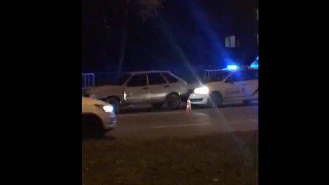 Львівські патрульні, наздоганяючи втікача, стали учасниками ДТП