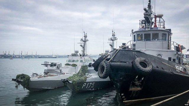 Захоплені Росією військові кораблі повернуть на службу після ремонту