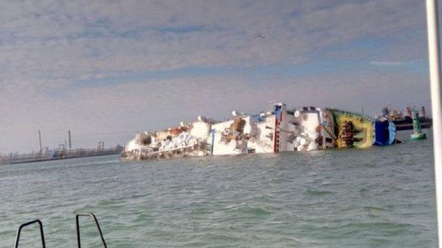 Вантажне судно з 14 тис. овець на борту перекинулось у Чорному морі