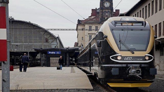 Leo Express запустить поїзди з Праги до Медики у березні наступного року