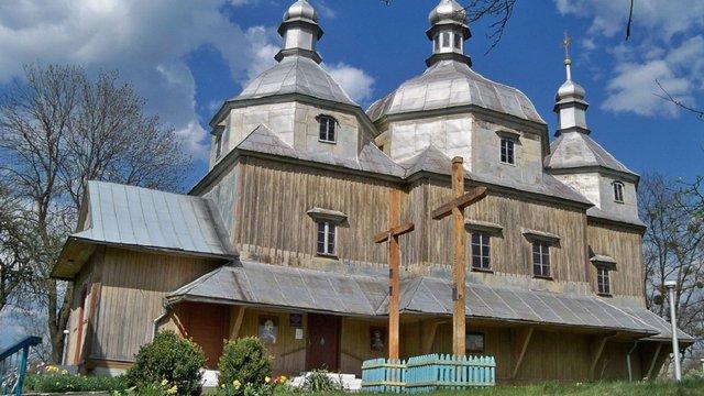 У Сокальському районі за 6,8  млн грн відреставрують дерев'яну церкву XIX ст.