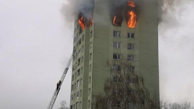 Семеро людей загинули від вибуху газу в багатоповерхівці на сході Словаччини