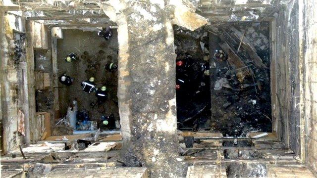 Кількість жертв пожежі в одеському коледжі зросла до семи