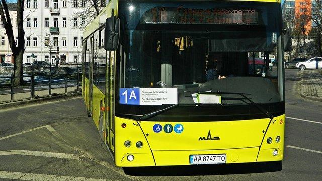Львівське АТП-1 планує запустити автобуси з центру Львова до Малехова і Підбірців