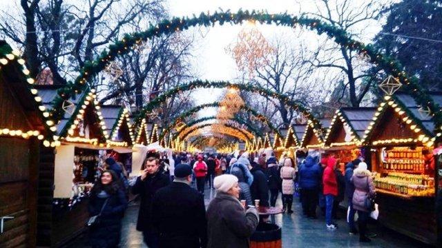 У Львові розпочав роботу Різдвяний ярмарок
