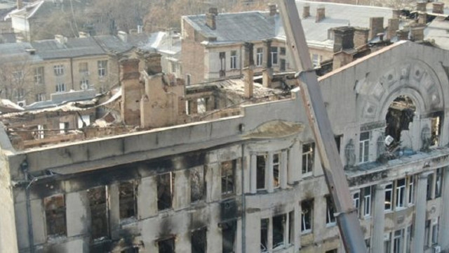 Рятувальники повідомили про офіційне завершення робіт в згорілому коледжі в Одесі