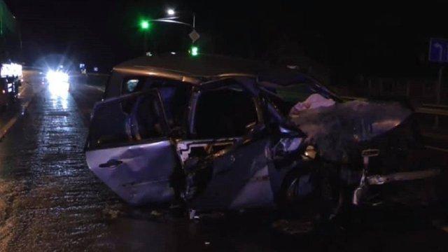 Внаслідок зіткнення з російською вантажівкою біля Бродів загинув 55-річний пасажир легковика