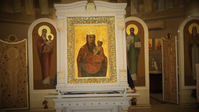 До 22 грудня у львівському храмі перебуватиме ікона Божої Матері з Зарваниці
