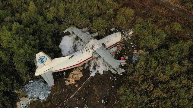 Поліція не розголошує подробиці розслідування авіакатастрофи Ан-12 під Львовом