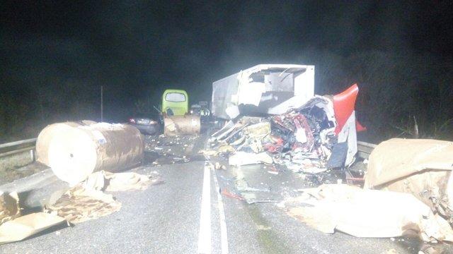Водій і двоє пасажирів автобуса «Херсон – Москва» загинули в ДТП на Чернігівщині