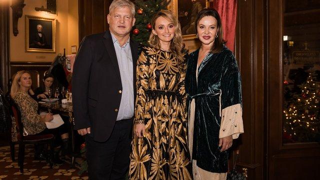 Veronica Family показала нові дизайнерські страви та вишиванки Юлії Магдич