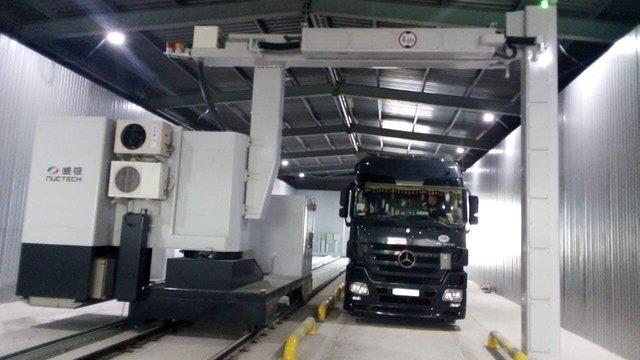 Перший в Україні сканер для перевірки вантажівок на митниці запустили на Закарпатті