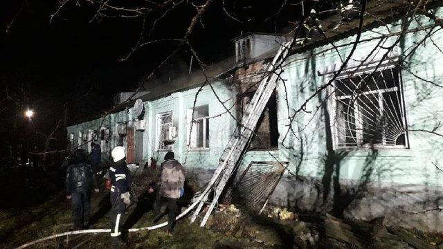 Через пожежу в психоневрологічному інтернаті на Луганщині загинули чотири людини