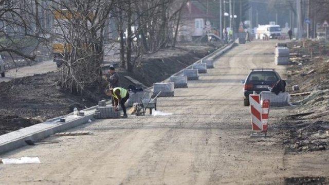 Наприкінці тижня вул. Курмановича у Львові відкриють для проїзду транспорту