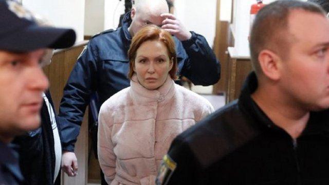 Підозрювану у вбивстві Павла Шеремета Юлію Кузьменко залишили під вартою
