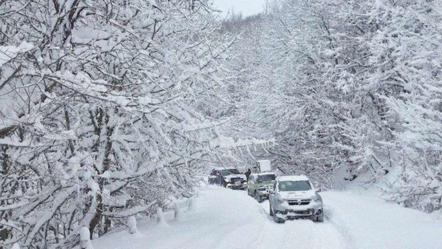 Рятувальники попередили про різке погіршення погоди в Карпатах