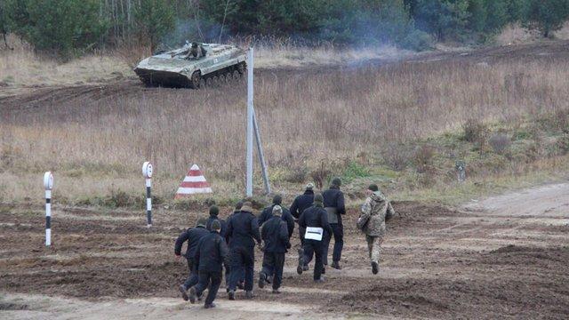 Після дев'ятирічної перерви на Львівщині відновили роботу танкодрому