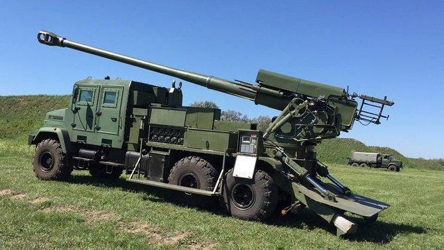 В Україні випробували першу вітчизняну артилерійську установку стандарту НАТО