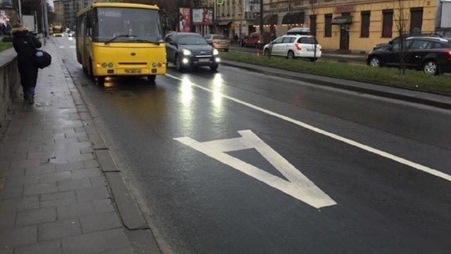 Депутати відхилили петицію про ліквідацію смуги громадського транспорту на просп. Чорновола