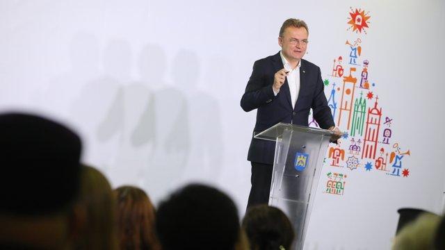Андрій Садовий прозвітував перед громадою міста за рік роботи