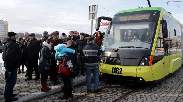 Вартість проїзду в електротранспорті Львова зросла на гривню