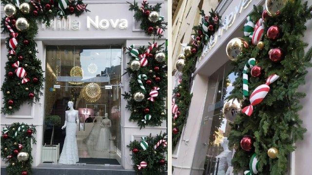 У Львові визначили найгарніші різдвяні вітрини