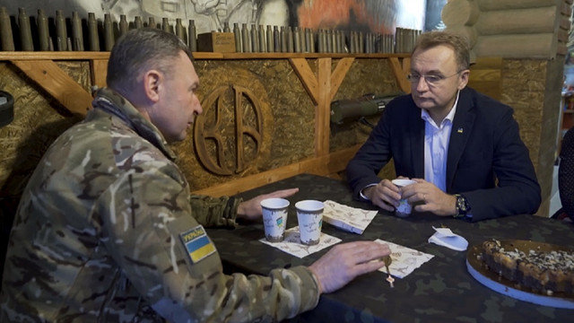 Мер Львова Андрій Садовий зустрівся з місцевими ветеранами АТО