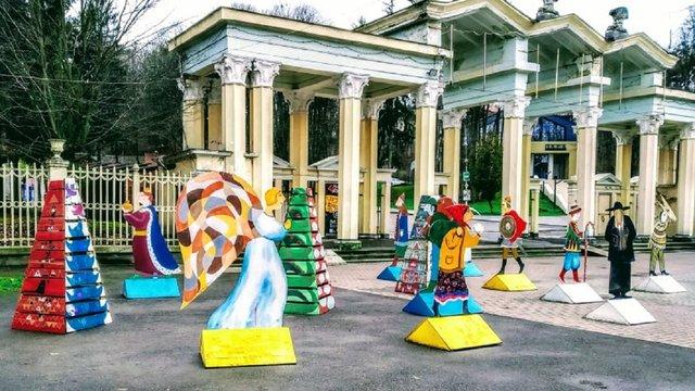 З вертепу у львівському парку невідомі вкрали та понищили фігуру царя