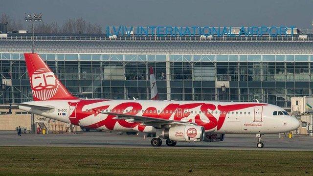 Італійський лоукостер Ernest Airlines достроково припинив польоти з України