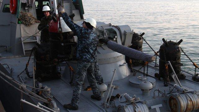 Штаб ООС спростував інформацію про мінування Азовського моря