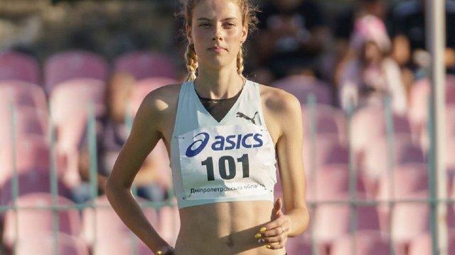 18-річна українка вдруге встановила у Львові світовий рекорд зі стрибків у висоту