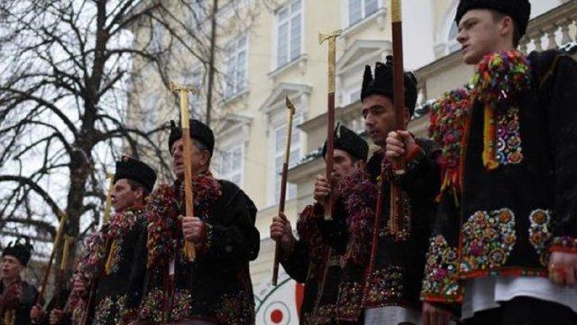 Львів'ян та гостей міста у День гуцульської культури запрошують на коляду з Верховини