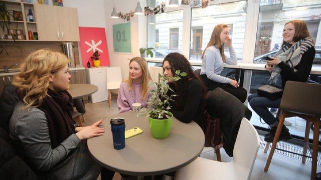 На вул. Чайковського у центрі Львова відкрили новий молодіжний центр