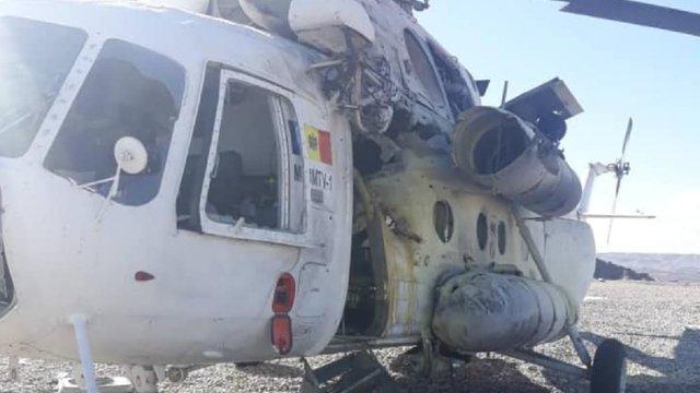 В Афганістані ракета поцілила у вертоліт з Молдови, поранено українських пілотів
