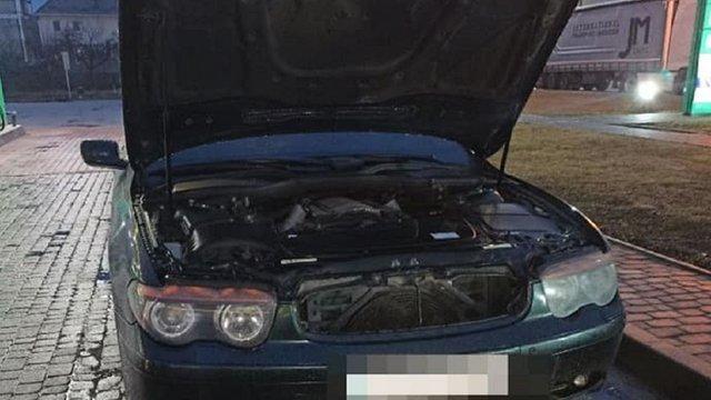 У Львові патрульні знайшли BMW,  який вкрали два роки тому